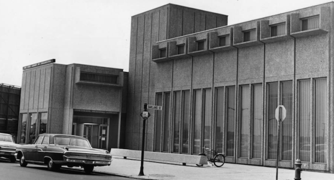 Northeast Regional Library at Cottman Avenue And Oxford Street, 1965 | Courtesy of the George D. McDowell Philadelphia Evening Bulletin Collection, Special Collections Research Center, Temple University Libraries