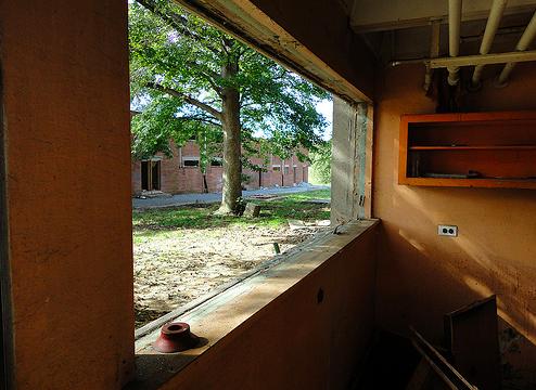 The Liddonfield Homes prior to demolition   Photo: PC Kidd