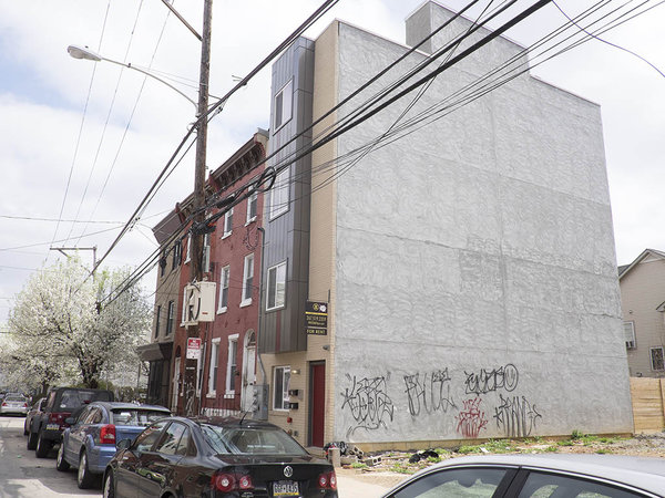"""""""The building at 1806 W. Montgomery Ave. The Department of Licenses and Inspections has given owner Shawn Bullard 35 days to get a certificate of occupancy, but he also will be allowed to have an engineer vouch for the building's safety.""""   Photo:  Ed Hille, for The Inquirer"""