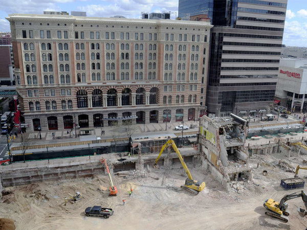 The East Market construction site | Photo: Clem Murray, for The Inquirer