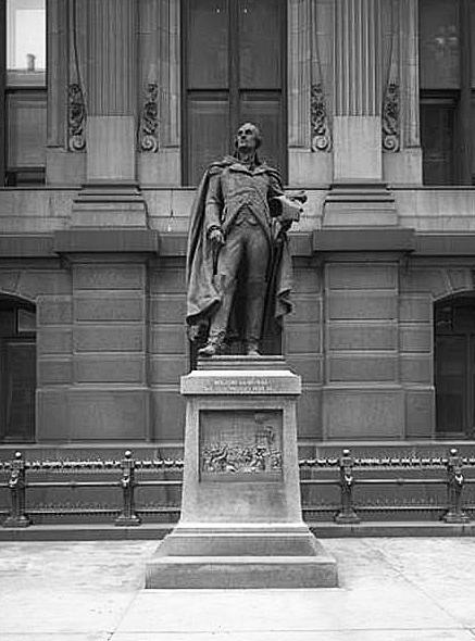 """City Hall Plaza – Muhlenberg Statue, photographed January 10, 1913"" | Philly History Blog"