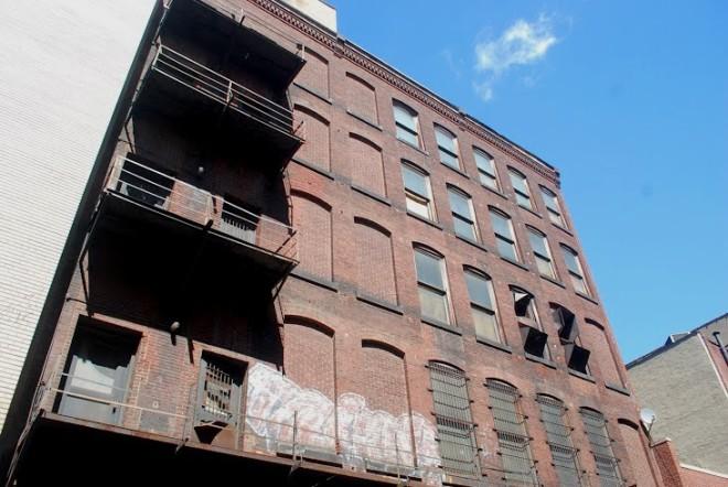 Rear facade, facing Ludlow Street   Photo: Shila Griffith