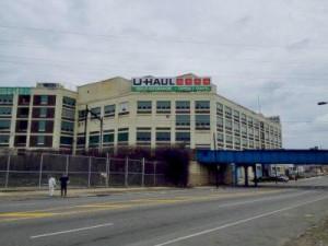 A Tasty legacy being buried behind the new U-Haul sign at 2801 W. Hunting Park Avenue  Photo: U-Haul International