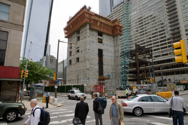Change is coming: Comcast Innovation & Technology Center construction site | Photo: Bradley Maule
