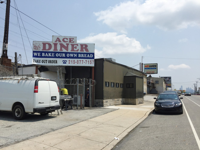 Ace Diner on Lancaster Avenue serves a good breakfast in a clean, but heavily renovated space. Photo: Randy Garbin
