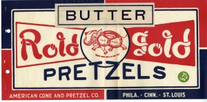 Rold Gold Butter Pretzels 7.5 lb bag | Source: National Archives