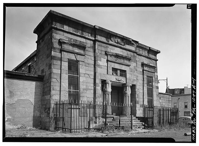 Front Elevation Philadelphia County Prison, Debtors' Wing, Reed Street & Passyunk Avenue