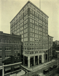 Schaff Building, 1924 | Source: AIA/T-Square Yearbook via the Athenaeum of Philadelphia