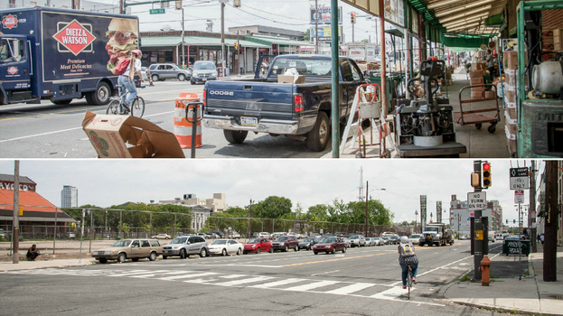 The varied states of land use on Washington Avenue | Photo: Kori Livingston