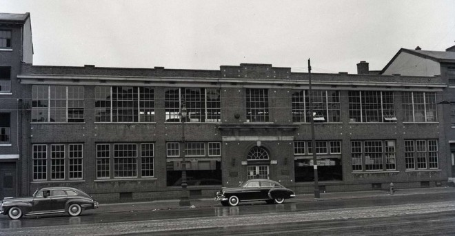 In its last days as Woodward-Wanger in 1949 | Source: Free Library of Philadelphia Historical Images of Philadelphia Collection