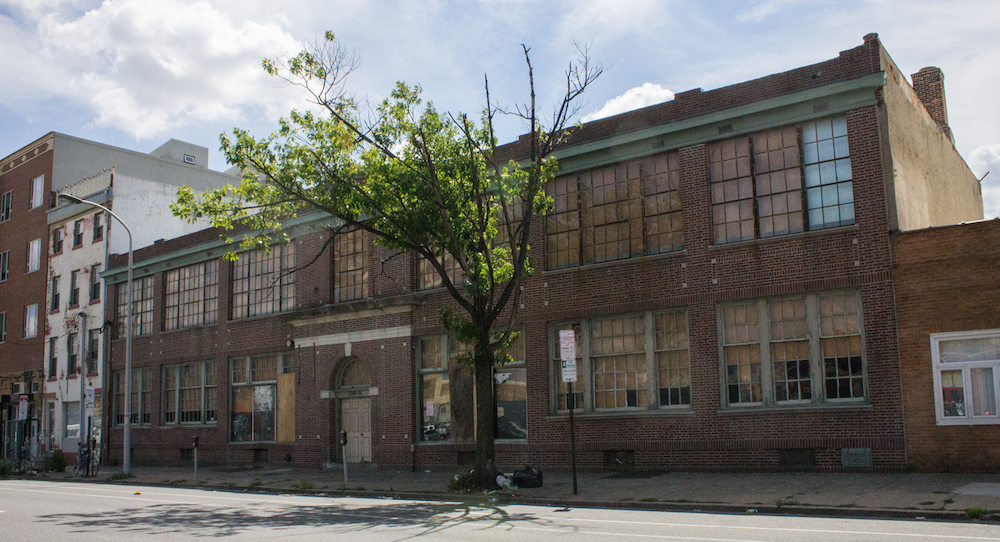 New Life for Spring Garden Street's Long-Vacant Lawsonia Building?