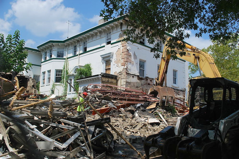 Distorted Perceptions Demolished The Levy-Leas Mansion