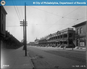 Looking west down 52nd Street in 1912 | Photo: PhillyHistory.org