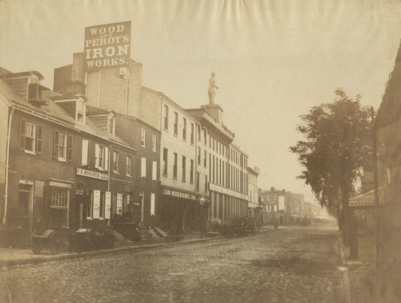 Wood Perot S Factory Along Ridge Avenue In 1858 By Photographer James Mcclees Courtesy Of The Library Company Philadelphia