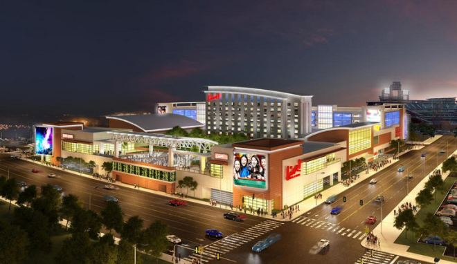 Rendering of Live! Hotel & Casino | Cordish