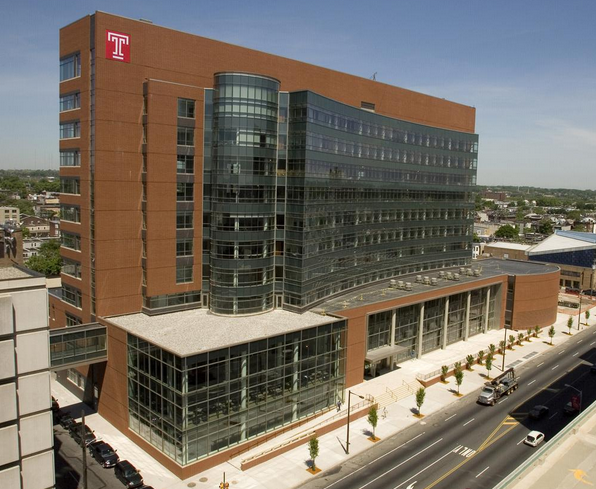 "Temple University's School of Medicine is now the ""Lewis Katz School of Medicine at Temple University"" 
