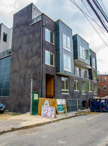 New home construction in Northern Liberties | Photo: Jeff Fusco, for the Philadelphia Business Journal