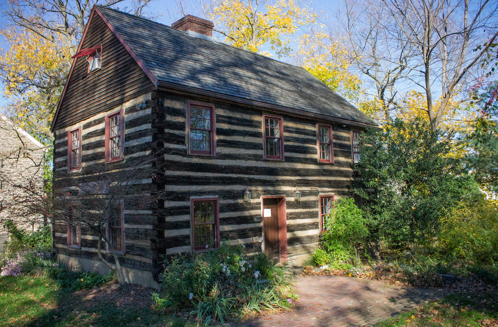 Available: Life In The Log Cabin At Stenton