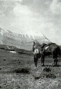 Mary Gibson Henry at Caribou Pass, British Columbia | Source: Adventurous Women: Eight Women Who Made a Difference