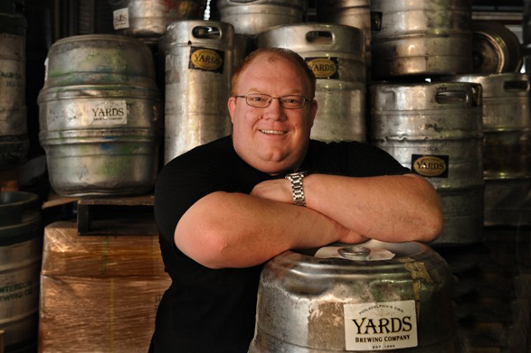 Yards Brewing Co. founder Tom Kehoe | Photo: R. Kennedy, for Visit Philadelphia
