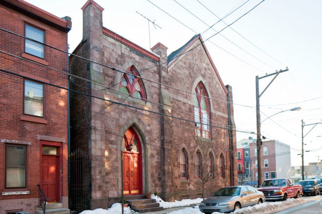 The former East Montgomery Protestant Episcopal Church | Photo: Peter Woodall