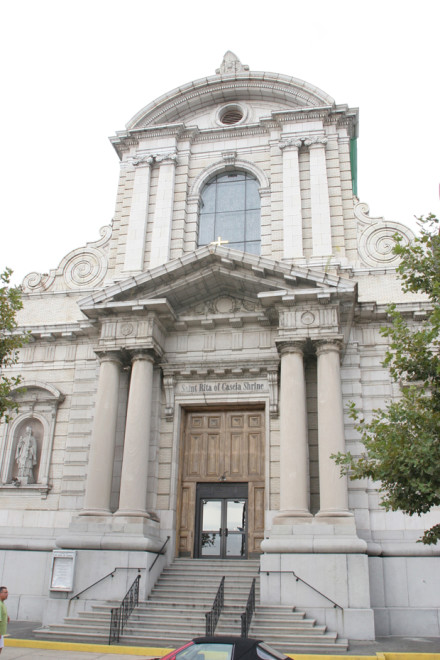 The Cascia Center for St. Rita of Cascia is to be built next to the St. Rita's of Cascia Shrine at Broad & Ellsworth Streets