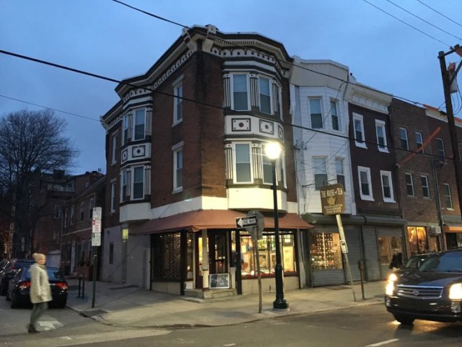 50 white LED streetlights have been installed along Fabric Row | Photo: Plan Philly