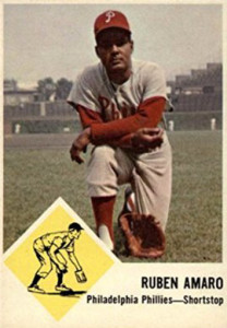 Rube Sr. hit a career .234, one point less than Rube Jr. | 1963 Fleer card #50
