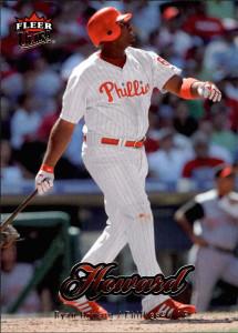 Last man standing: the final Fleer baseball card series | 2007 Fleer Ultra card #141