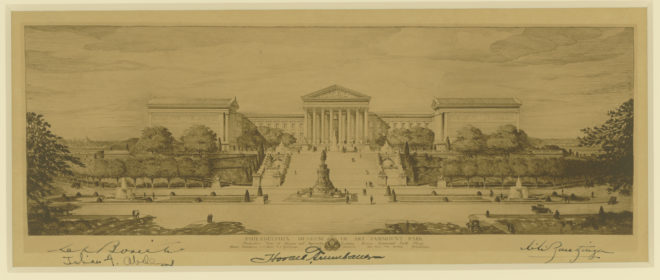 Philadelphia Museum of Art | Courtesy of the Athenaeum of Philadelphia