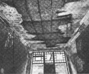 Haseltine Building Fire Damage | Source: Fireproof Magazine, Volume I