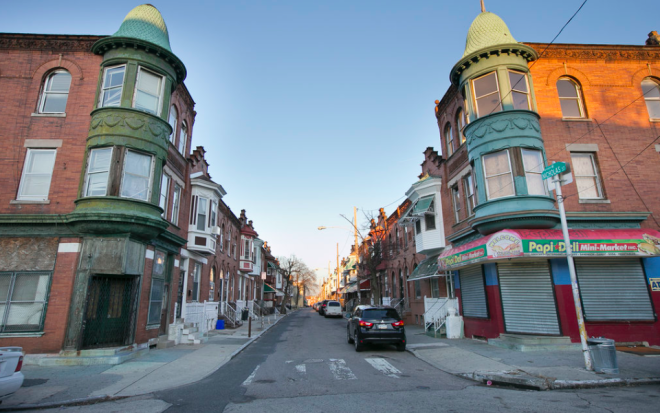The intersection of 23rd & Nicholas Streets in Sharwsood, North Philadelphia | Photo: Alejandro A. Alvarez, for The Inquirer