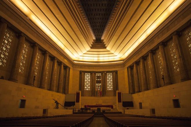 Inside the glowing sanctuary   Photo: Dan Papa