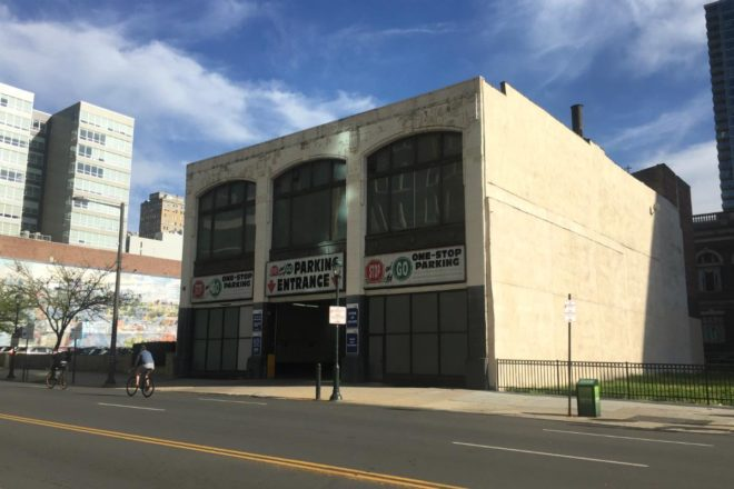 """Brandywine Realty Trust hopes to demolish this building as part of its plan for an enlarged surface parking lot on the 2100 block of Market Street."" 