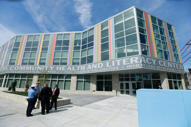 """South Philadelphia Community Health and Literacy Center at Broad and Morris Streets, Monday May 9, 2016"" 