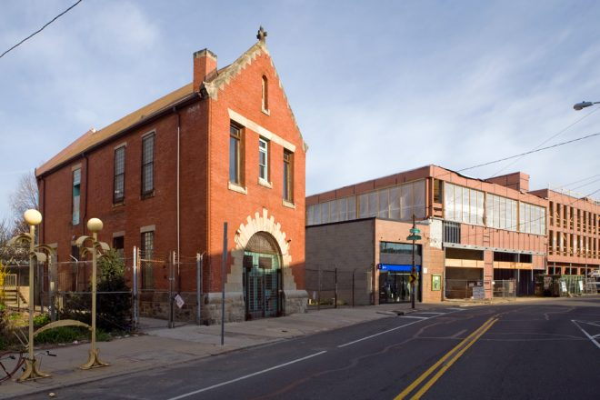 Bicycle Stable no more: 1420 Frankford Avenue | Photo: Bradley Maule