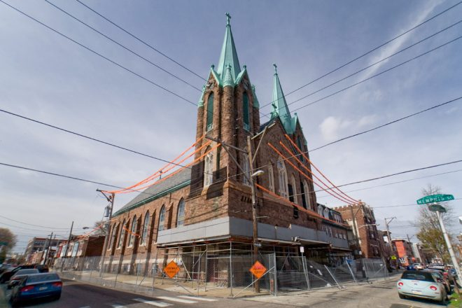 Contentious Laurentius: Circa-1885 St. Laurentius Catholic Parish | Photo: Bradley Maule
