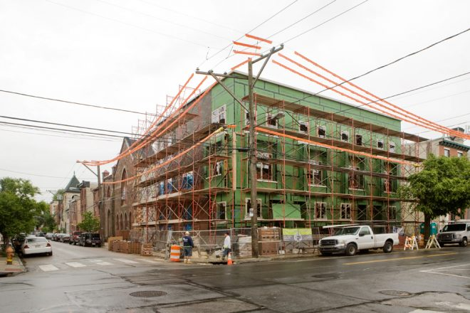 Fishtown: under construction