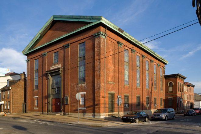"""Old Brick"": Kensington United Methodist Church | Photo: Bradley Maule"