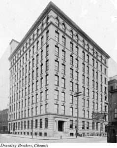 Drueding Brothers 8-story Section some time in the 1910s | Source: wmsteeleandsons.com