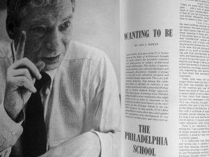 """The Philadelphia School,"" Progressive Architecture, April 1961 | Photo: Nathaniel Popkin"