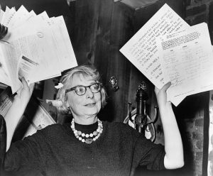 Jane Jacobs, Lion's Head coffee shop, New York, 1961 | Photo: Getty Images (Wiki Commons)