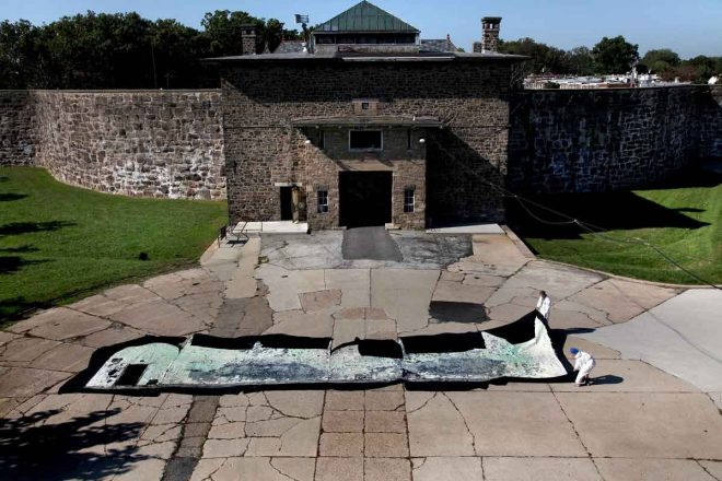"""Holmesburg Prison could be put back into service to house convention protesters."""