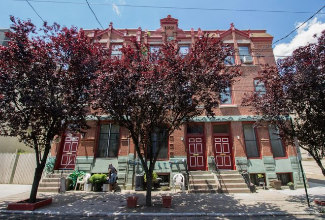 In a league of its own. This small block of ornate rows at 1630 Francis Street, built in 1886, is but one example of the city's stock of standalone, neighborhood gems