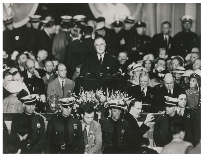 Fdr Left Out Of Dnc Day One But Here He Is Franklin