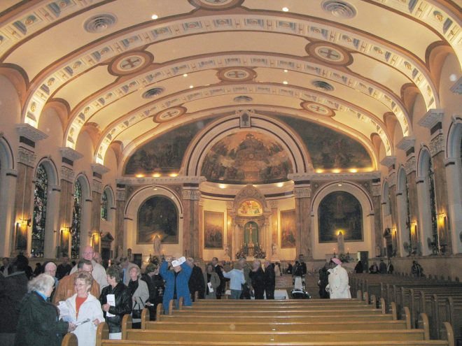 A Unity Mass was held in 2007 to mark the closing of the church of Most Blessed Sacrament | Photo courtesy of Patrick Hildebrandt,  Philadelphia Church Project