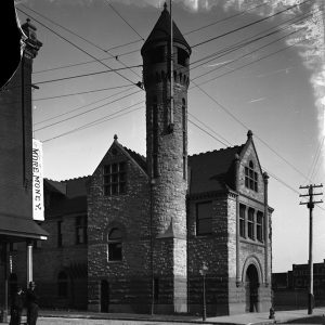 This Windrim-designed firehouse at 26th and York was torn down in the early 1950s | Photo courtesy Phillyhistory.org.