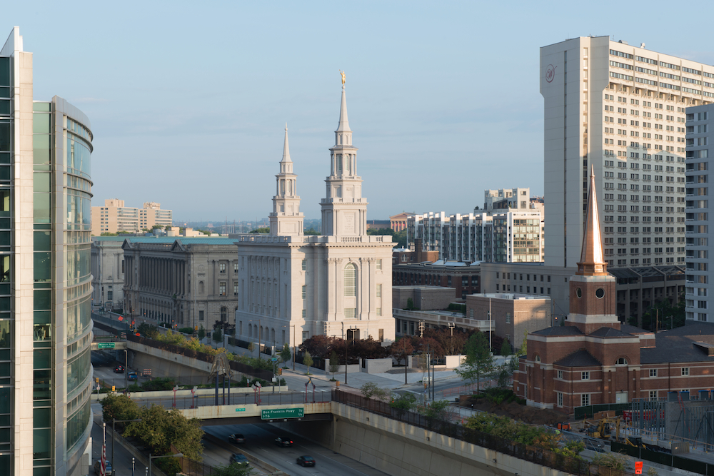 Mormon Temple Transcends Tradition On The Parkway