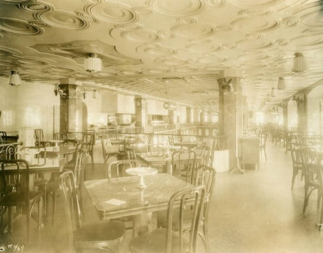 Horn Building Horn & Hardart Restaurant Mezzanine | Source: D'Ascenzo Studio Archives, Athenaeum of Philadelphia