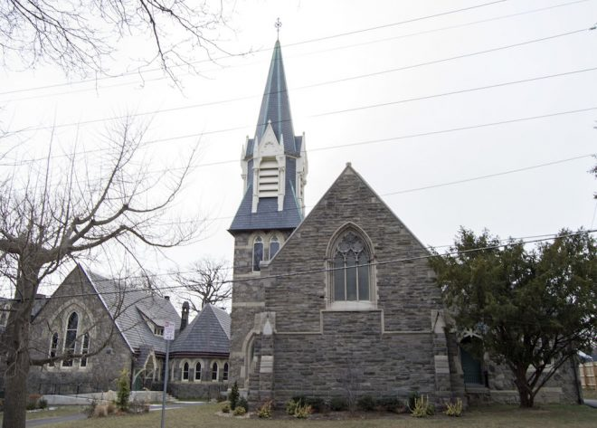 St. Peter's Episcopal Church, now the Waldorf School. The only property with association to Houston's development on both local and national historic registers. Designed by Furness and Hewitt. | Photo: Joshua Bevan